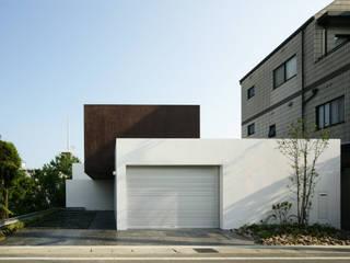 Minimalistyczne domy od 設計組織DNA Minimalistyczny