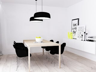 Minimalist dining room by STUDIO MAC Minimalist