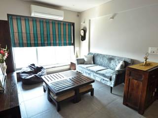 Dhruva Samal & Associates Modern living room