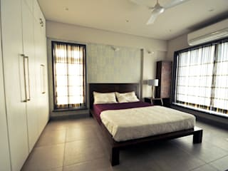 Dhruva Samal & Associates Modern style bedroom