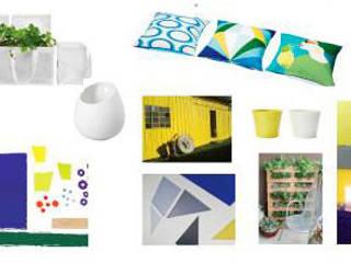 planche d'ambiance (références et matériaux):  de style  par a.Calu Paysagiste concepteur