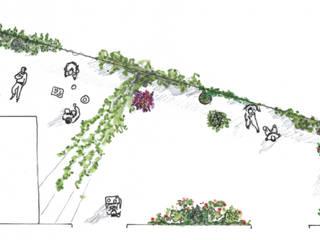 Usages et plantes:  de style  par a.Calu Paysagiste concepteur