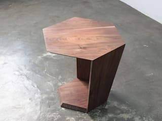 Hexa Table: The QUAD woodworks 의 현대 ,모던