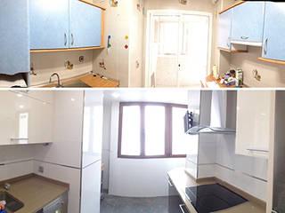 Reforma completa de cocina de AtelierBas. Arquitectura y Construcción