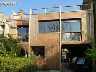 Extension bois basse consommation à Noisy-le-Sec(93) par Latitude 48°