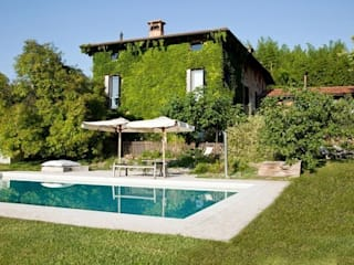 Eclectic style garden by Studio Maggiore Architettura Eclectic