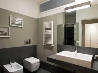 Appartamento a San Paolo - Roma Archifacturing Bagno moderno