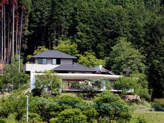 長谷雄聖建築設計事務所 Casas de estilo moderno
