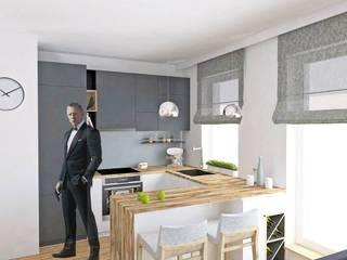 Modern style kitchen by BEZ CUKRU studio projektowe Modern
