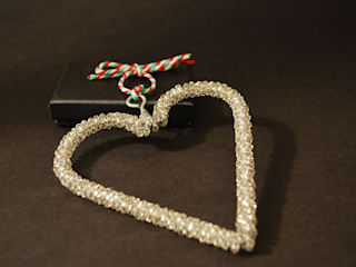 Beaded Heart:   by My Luxe