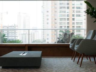 Consuelo Jorge Arquitetos Ruang Keluarga Modern