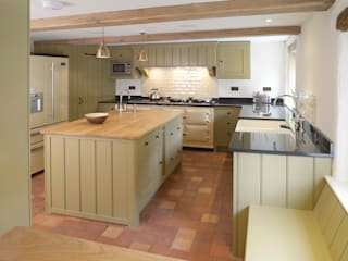 Projects / Kitchens Wiejska kuchnia od Hartley Quinn WIlson Limited Wiejski