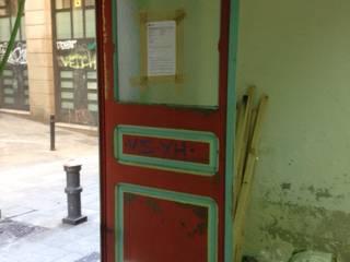 Transformación de la puerta de PRINCIPIS BCN DracDecor Atelier