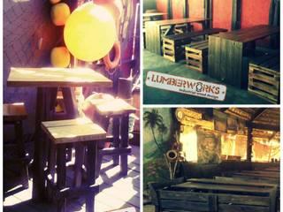 Madera Reutilizada:  de estilo  por Lumberworks