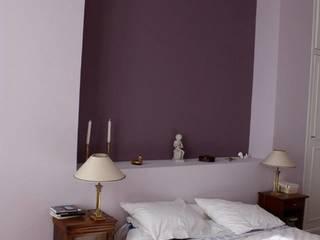 Maison Individuelle Chambre minimaliste par Anne Bernard Architecte d'Intérieur Minimaliste