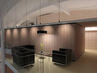 Interiores comerciales Clínicas y consultorios médicos de estilo moderno de LEAP Laboratorio en Arquitectura Progresiva Moderno