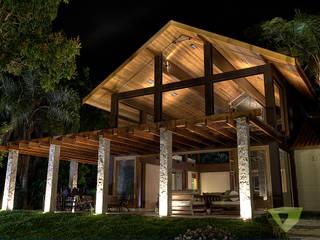 Olaa Arquitetos Country style houses