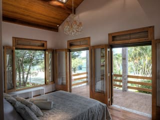 Chambre de style  par Olaa Arquitetos,