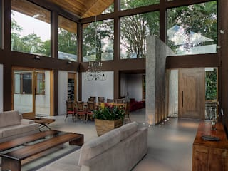 country Living room by Olaa Arquitetos