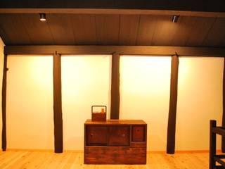 西川真悟建築設計 Dormitorios de estilo moderno