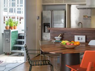 SALA2 arquitetura e design Comedores de estilo tropical