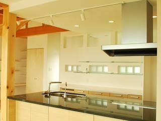 西川真悟建築設計 Cocinas de estilo moderno