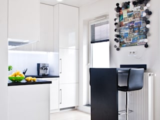 Salas de jantar minimalistas por nomad studio Minimalista