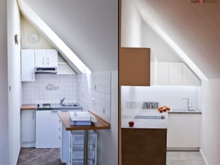 Cocinas de estilo minimalista de nomad studio Minimalista