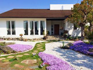 Garden and living Maisons rustiques par 有限会社 TEPEE HEART Rustique