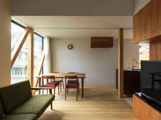タカヤマ建築事務所의  다이닝 룸, 미니멀