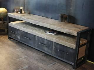 Nos meubles de rangement (buffets et bahuts) de style industriel par MICHELI Design Industriel