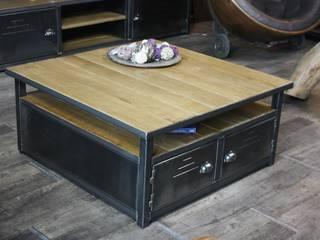 Nos tables basses de style industriel par MICHELI Design Industriel