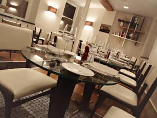 Ristorante Salotto & Roda - Londra Archifacturing Gastronomia in stile eclettico