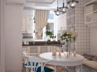 Cocinas de estilo moderno por студия Design3F