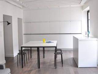 Aménagement A+P Cuisine minimaliste par Elément commun Minimaliste