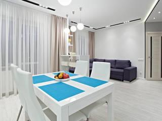 Современная квартира в скандинавском стиле от Shop of the interiors, design studio