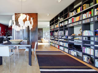 Villa a Chieri - Torino : Soggiorno in stile  di studio di architettura via bava 36