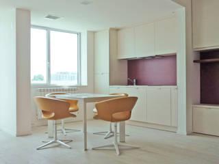 Mutaazione, idea condivisa per la casa Cucina moderna di mod-o Moderno
