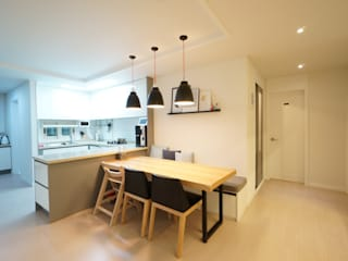 Scandinavian style kitchen by 유노디자인 Scandinavian