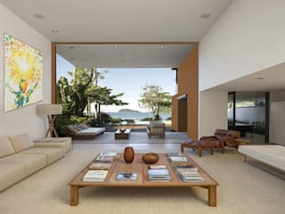 Casa familiare: Sala multimediale in stile  di Studio d'arte e architettura Ana D'Apuzzo