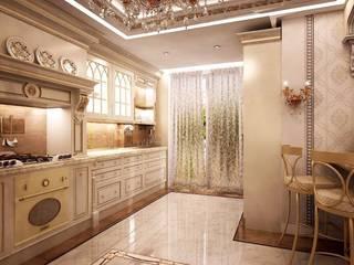 Роскошь классических интерьеров: Столовые комнаты в . Автор – STONE design, Классический