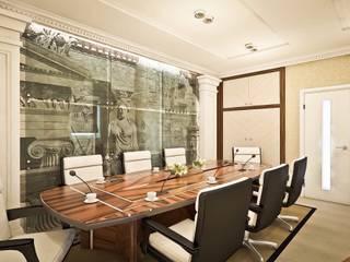 Проект офиса: Рабочие кабинеты в . Автор – STONE design, Классический