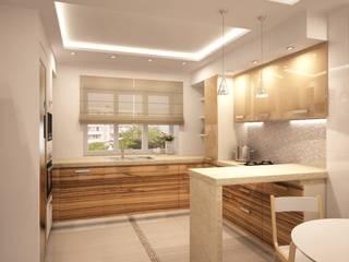 Простота и функциональность современного жилья: Кухни в . Автор – STONE design, Минимализм