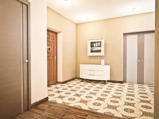 Яркие акценты современных квартир: Коридор и прихожая в . Автор – STONE design, Минимализм