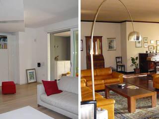 Ristrutturazione di casa unifamliare di mod-o Moderno