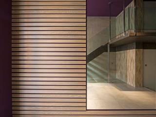 Pasillos, vestíbulos y escaleras modernos de PRIBURGOS SLU Moderno