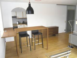 modern wohnen mit einem Hauch von Skandinavien Skandinavische Esszimmer von Innenarchitektur-Moll Skandinavisch