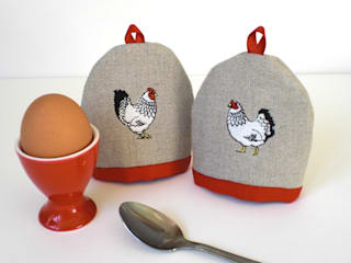 Mr & Mrs Chicken Kate Sproston Design HouseholdTextiles