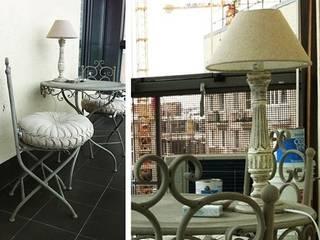 에클레틱 거실 by Архитектурное бюро Борщ 에클레틱 (Eclectic)