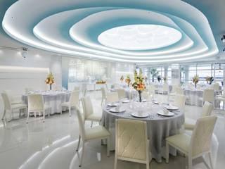AQUA WEDDING VILLA ELYSION KISARAZU の KASAHARA DESIGN WORK Co.Ltd モダン